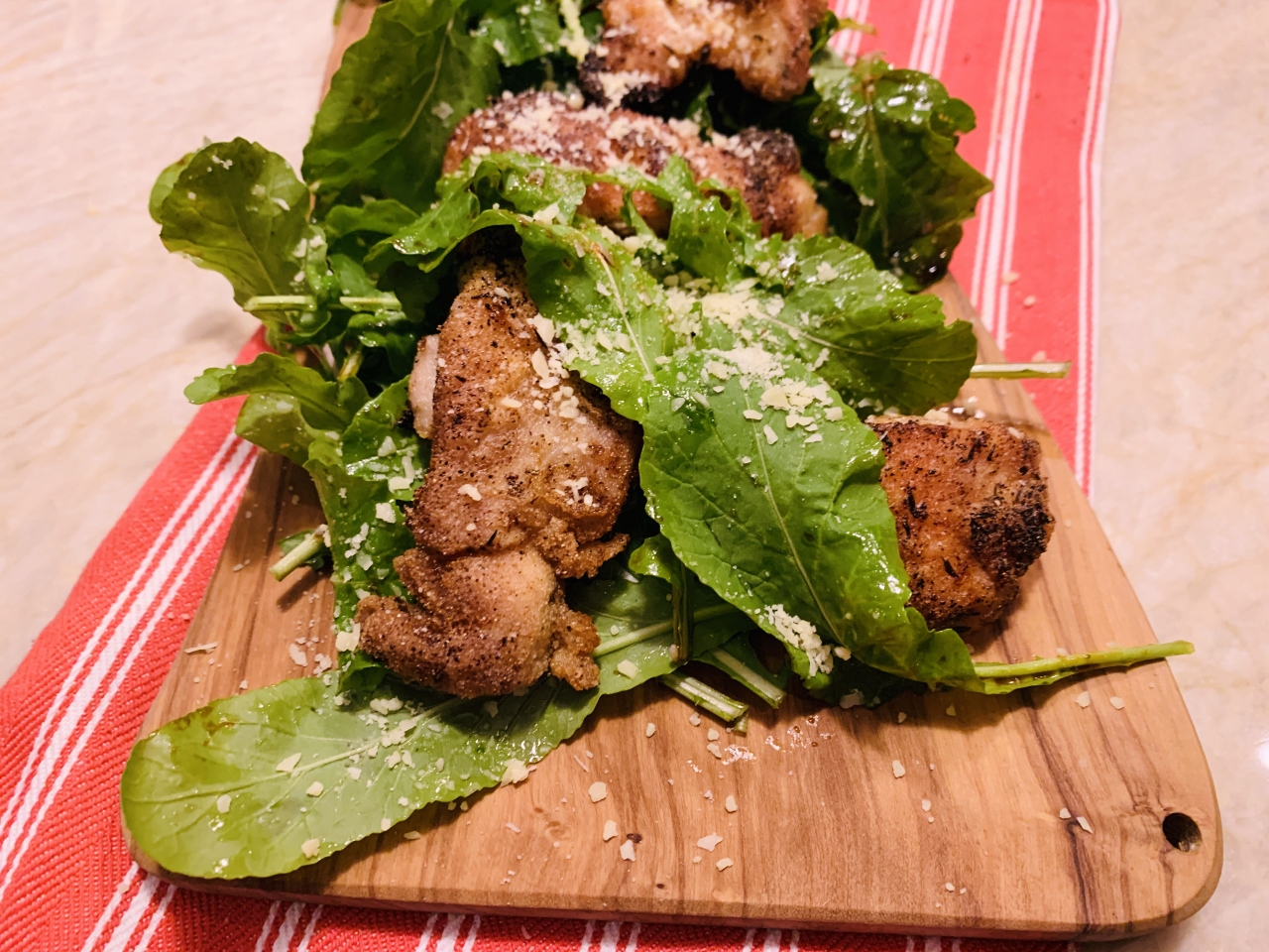 Crispy Chicken, Arugula, Parmesan, Balsamic Image 2