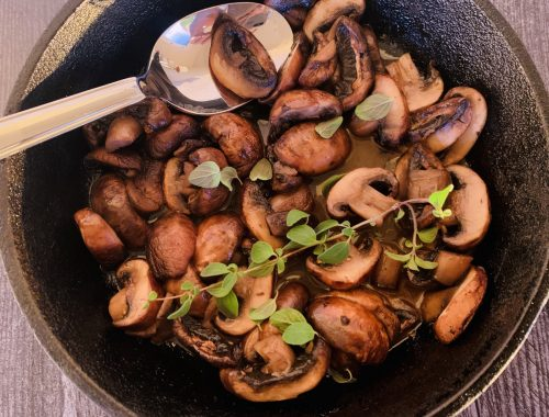 Marsala Mushrooms – Recipe!