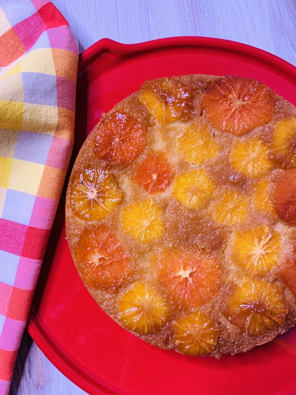 Upside Down Gluten-Free Blood Orange Cake – Recipe! Image 2