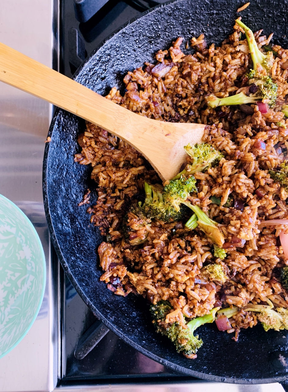 Got Leftover Rice?  Gingery Broccoli Fried Rice – Recipe! Image 4