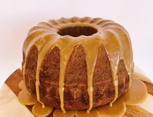 Tennessee Jam Bundt Cake with Caramel Frosting – Recipe!