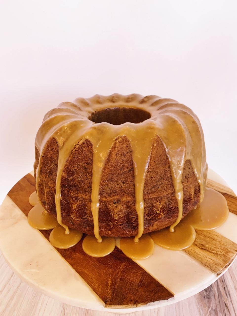 Tennessee Jam Bundt Cake with Caramel Frosting – Recipe! Image 1