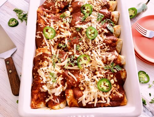 Carnitas Enchiladas – Recipe!