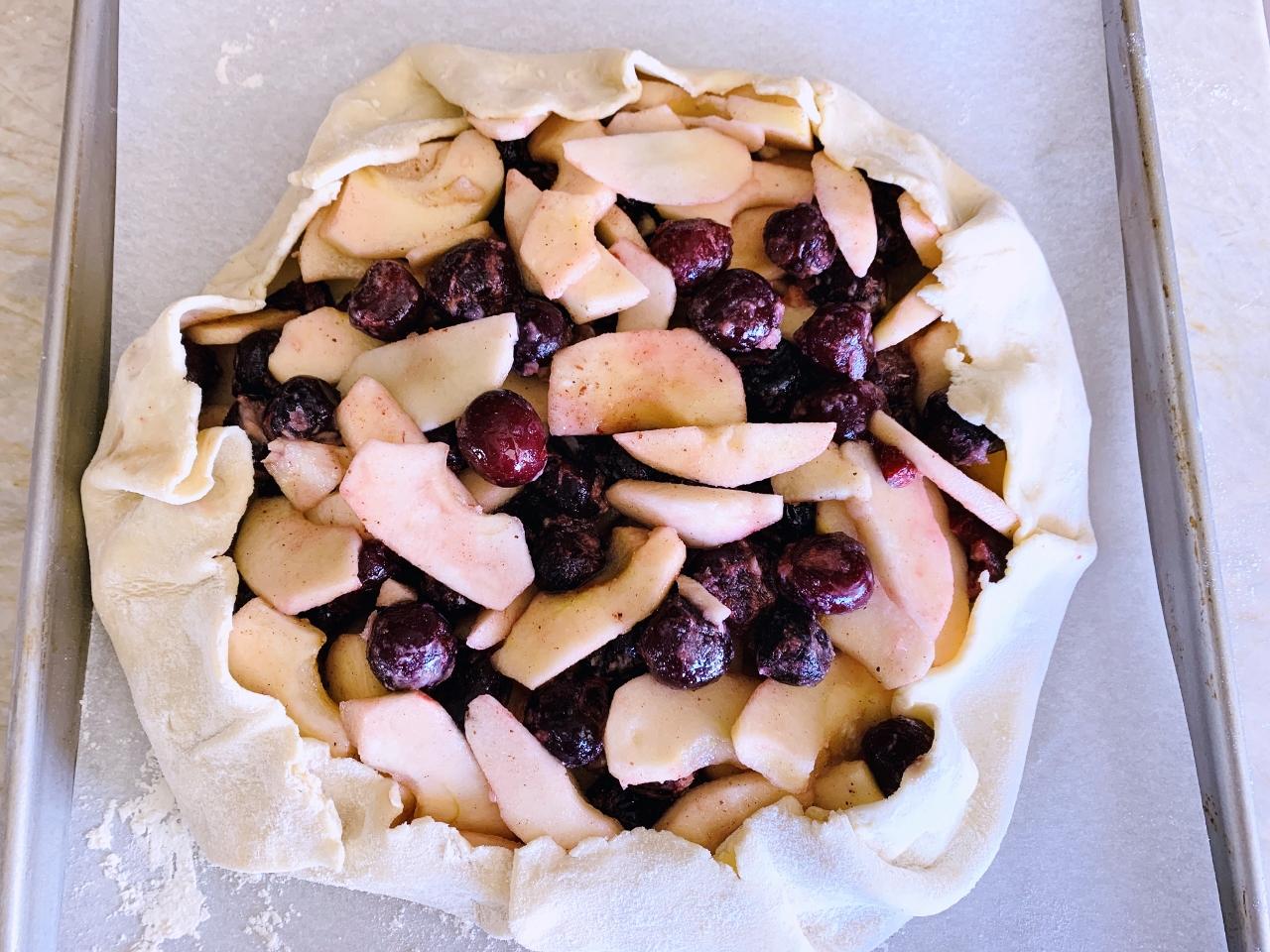 Cherry-Apple Almond Crostata – Recipe! Image 4