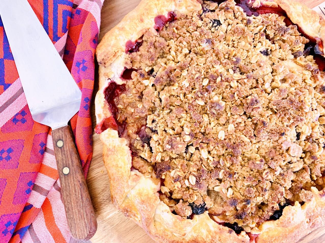 Cherry-Apple Almond Crostata – Recipe! Image 2
