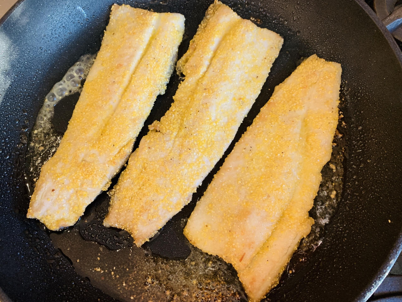 Cornmeal Crusted Trout with Dill Butter – Recipe! Image 3