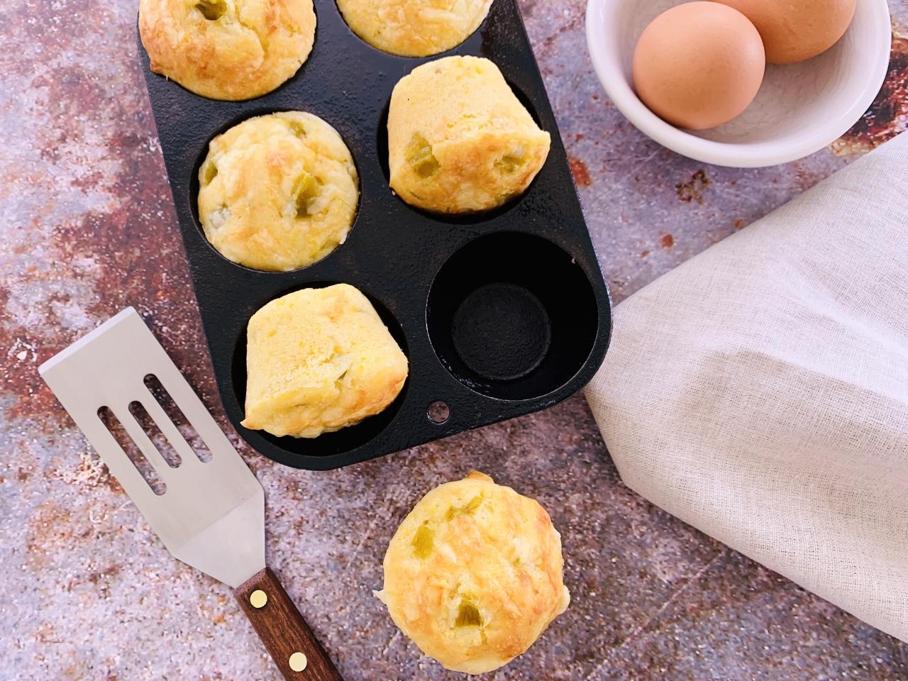Green Chili Cheese Corn Muffins – Recipe! Image 5