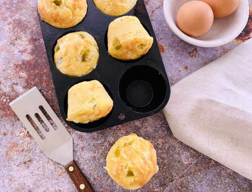 Green Chili Cheese Corn Muffins – Recipe!