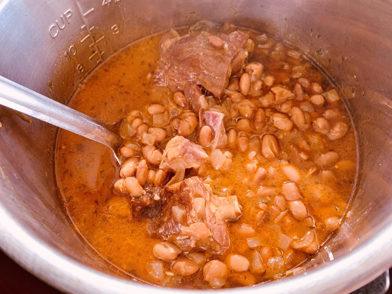 Instant Pot Smoky Pintos with Ham – Recipe! Image 5