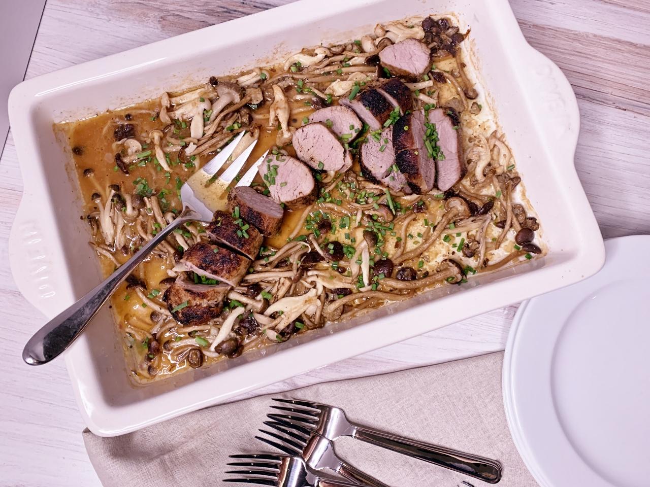 Roasted Pork Tenderloin with Wild Mushrooms – Recipe! Image 2