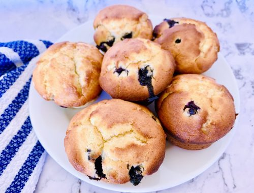 Blueberry Lemon Ricotta Muffins – Recipe!