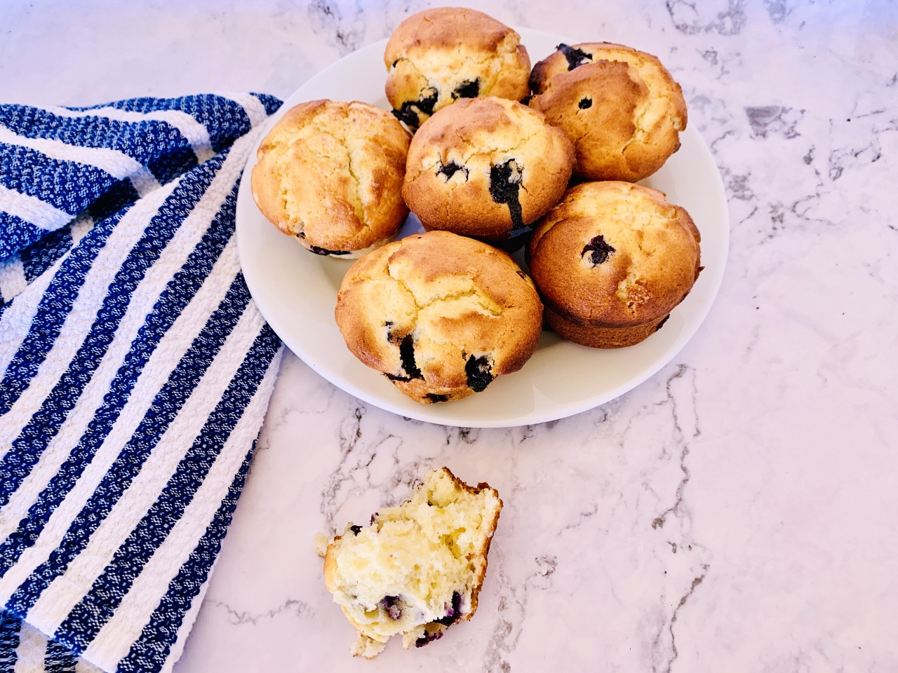 Blueberry Lemon Ricotta Muffins – Recipe! Image 2