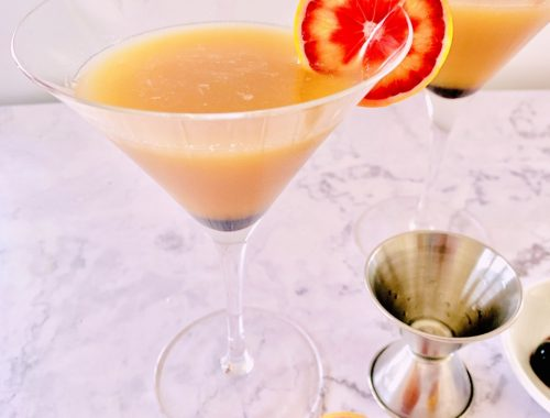 California Sunrise Martini – Recipe!