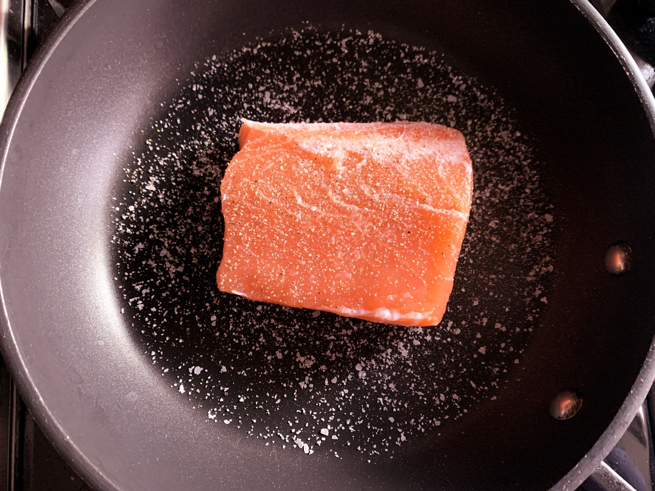Crispy Skinned Salmon with Agrodolce Kumquat Compote – Recipe! Image 3