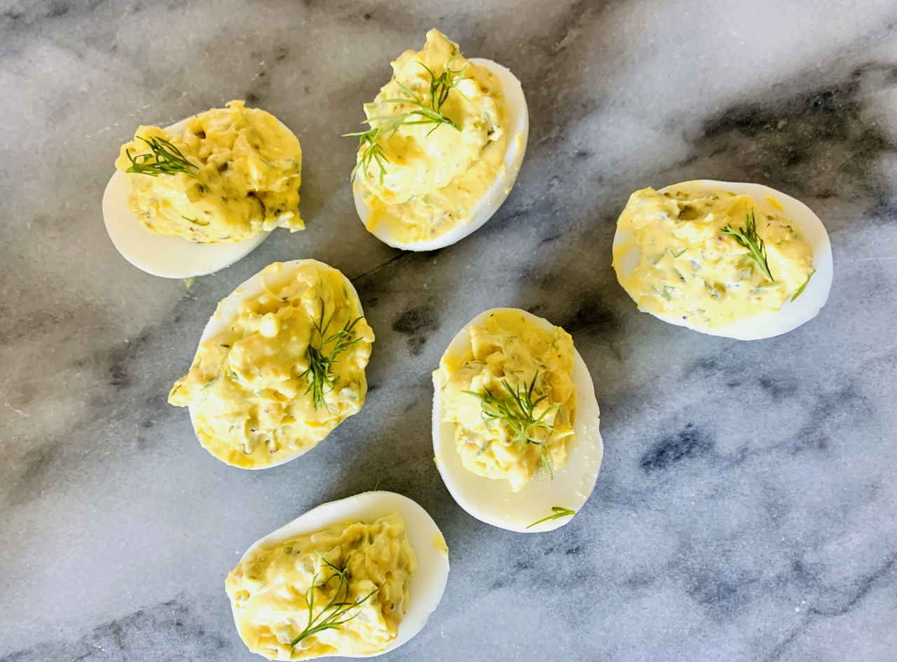 Dilly Deviled Eggs – Recipe! Image 2