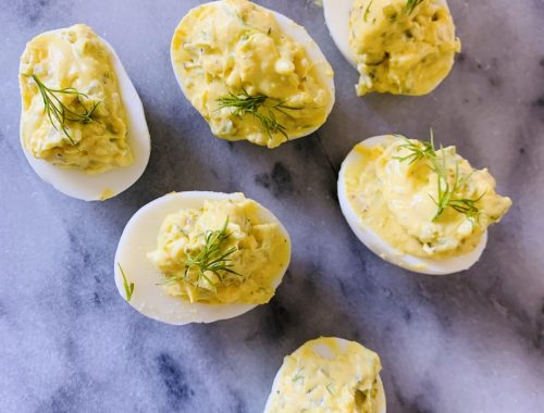 Dilly Deviled Eggs – Recipe!