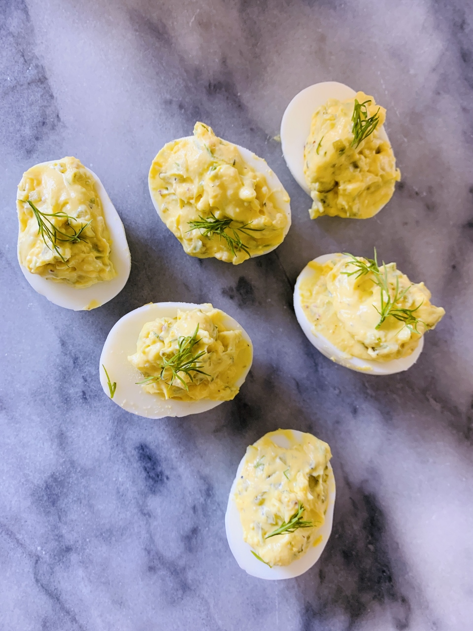 Dilly Deviled Eggs – Recipe! Image 1