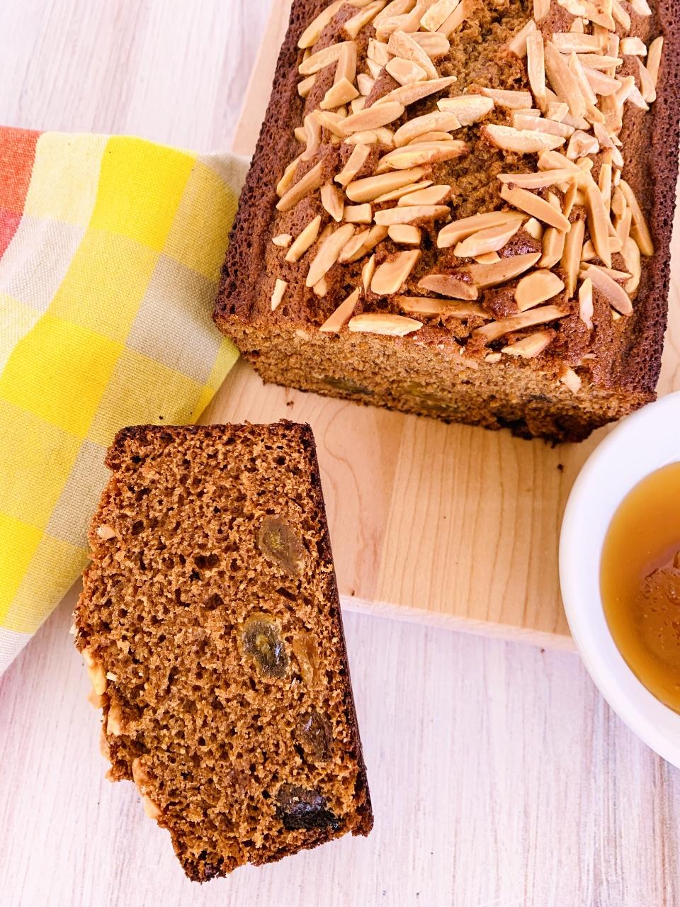 Honey-Rye Loaf Cake – Recipe! Image 1