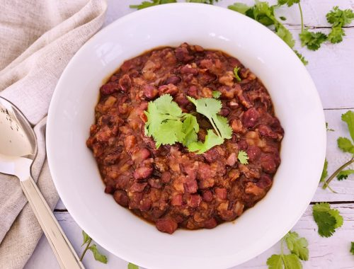Instant Pot Spicy Tomato Adzuki Beans – Recipe!