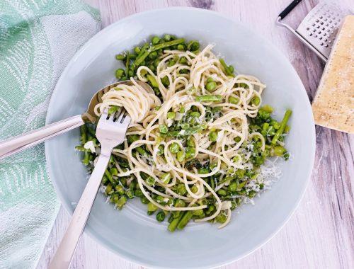 10-Minute Springtime Pasta Primavera – Recipe!