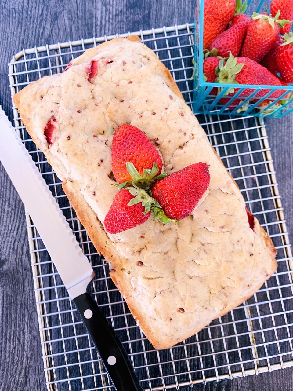 Strawberry Shortcake Quick Bread – Recipe! Image 6