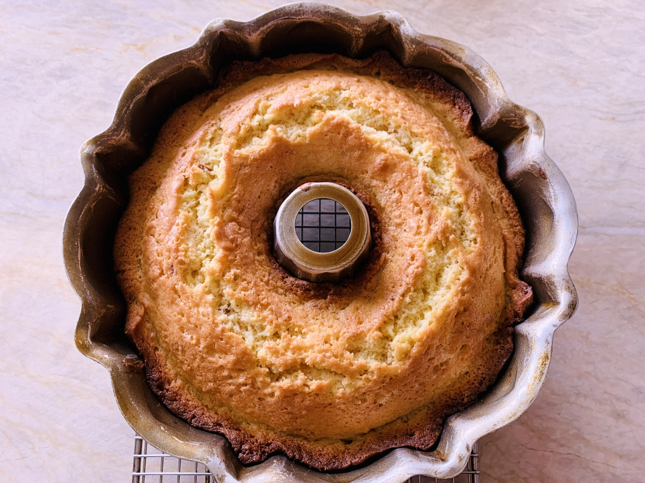 Toasted Coconut Bundt Cake with Chocolate Fudge Glaze – Recipe! Image 4