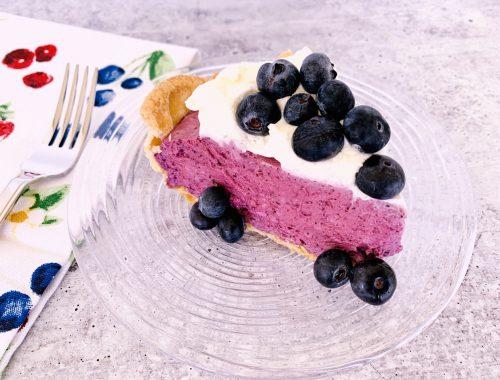 Blueberry Chiffon Pie – Recipe!