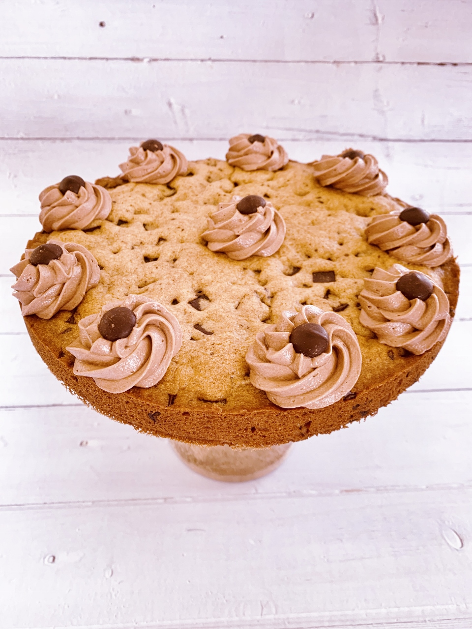Chocolate Chip Cookie Cake with Nutella Buttercream – Recipe! Image 2