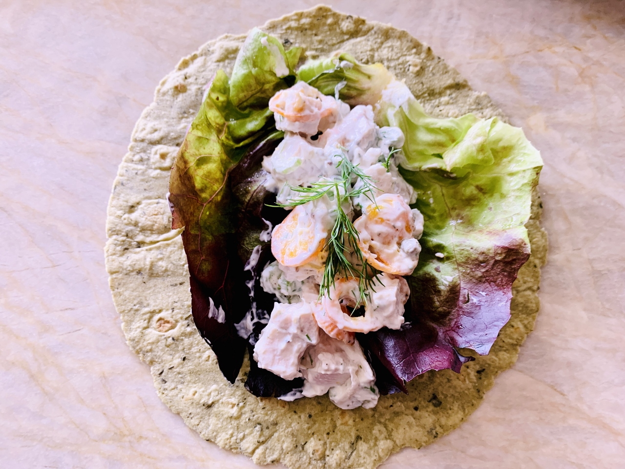 Creamy Chicken Salad Wraps – Recipe! Image 4