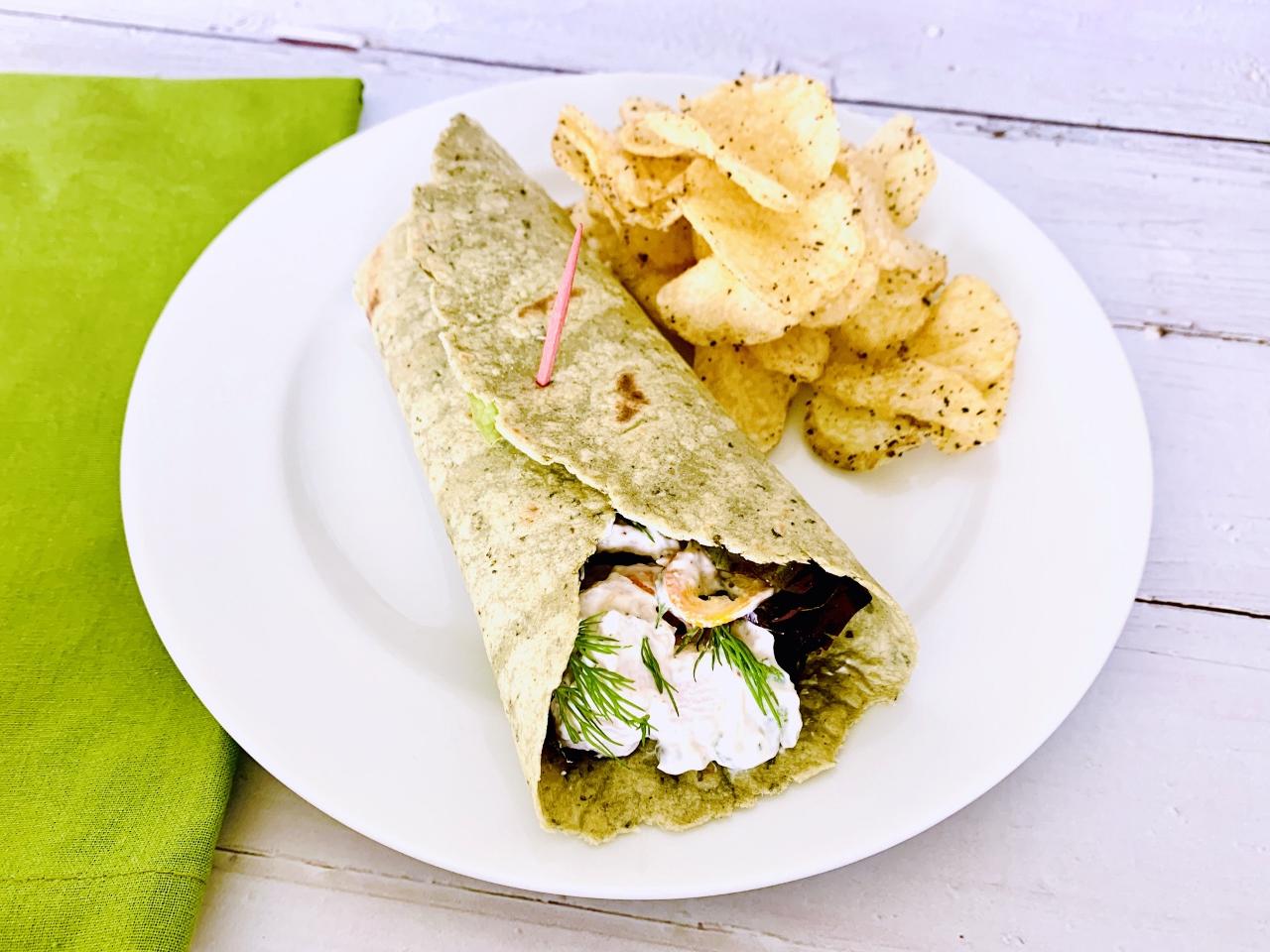 Creamy Chicken Salad Wraps – Recipe! Image 2