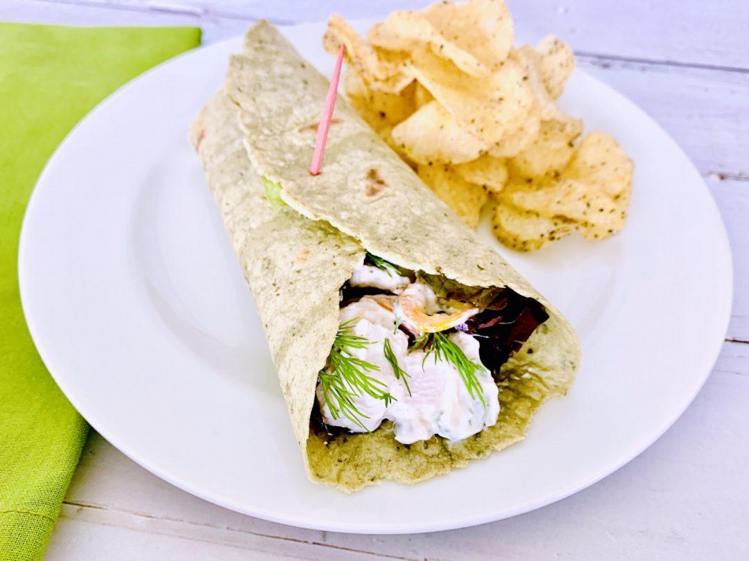 Creamy Chicken Salad Wraps – Recipe! Image 1
