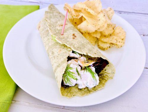 Creamy Chicken Salad Wraps – Recipe!