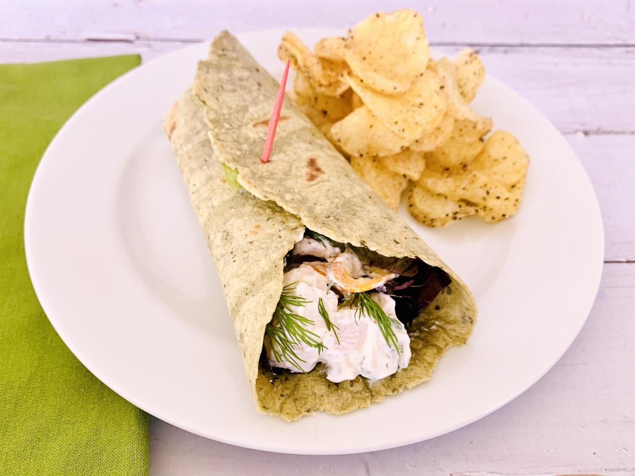 Creamy Chicken Salad Wraps – Recipe! Image 5