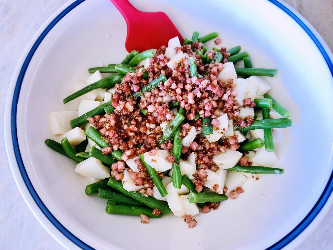 Green Bean Potato Salad with Pancetta Vinaigrette – Recipe! Image 4