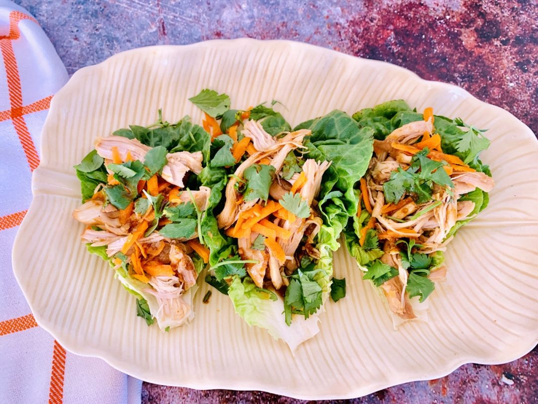 Instant Pot Asian Chicken Lettuce Wraps – Recipe! Image 1