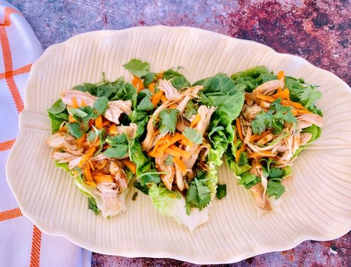 Instant Pot Asian Chicken Lettuce Wraps – Recipe!