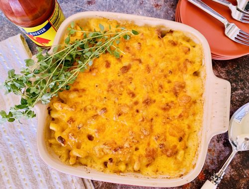 Spicy Macaroni & Cheese – Recipe!