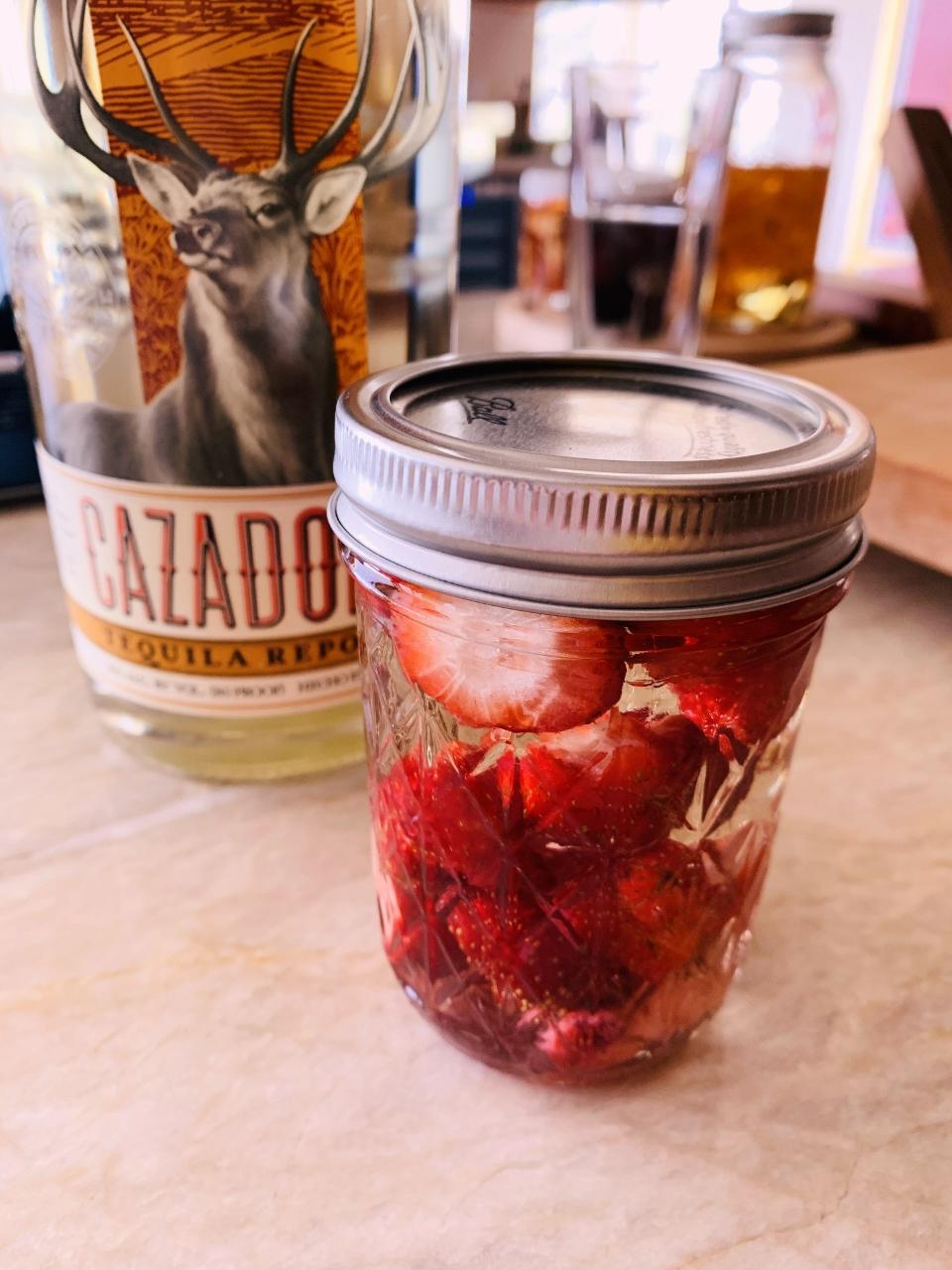Creamy Strawberry-Jalapeno Infused Margarita – Recipe! Image 3