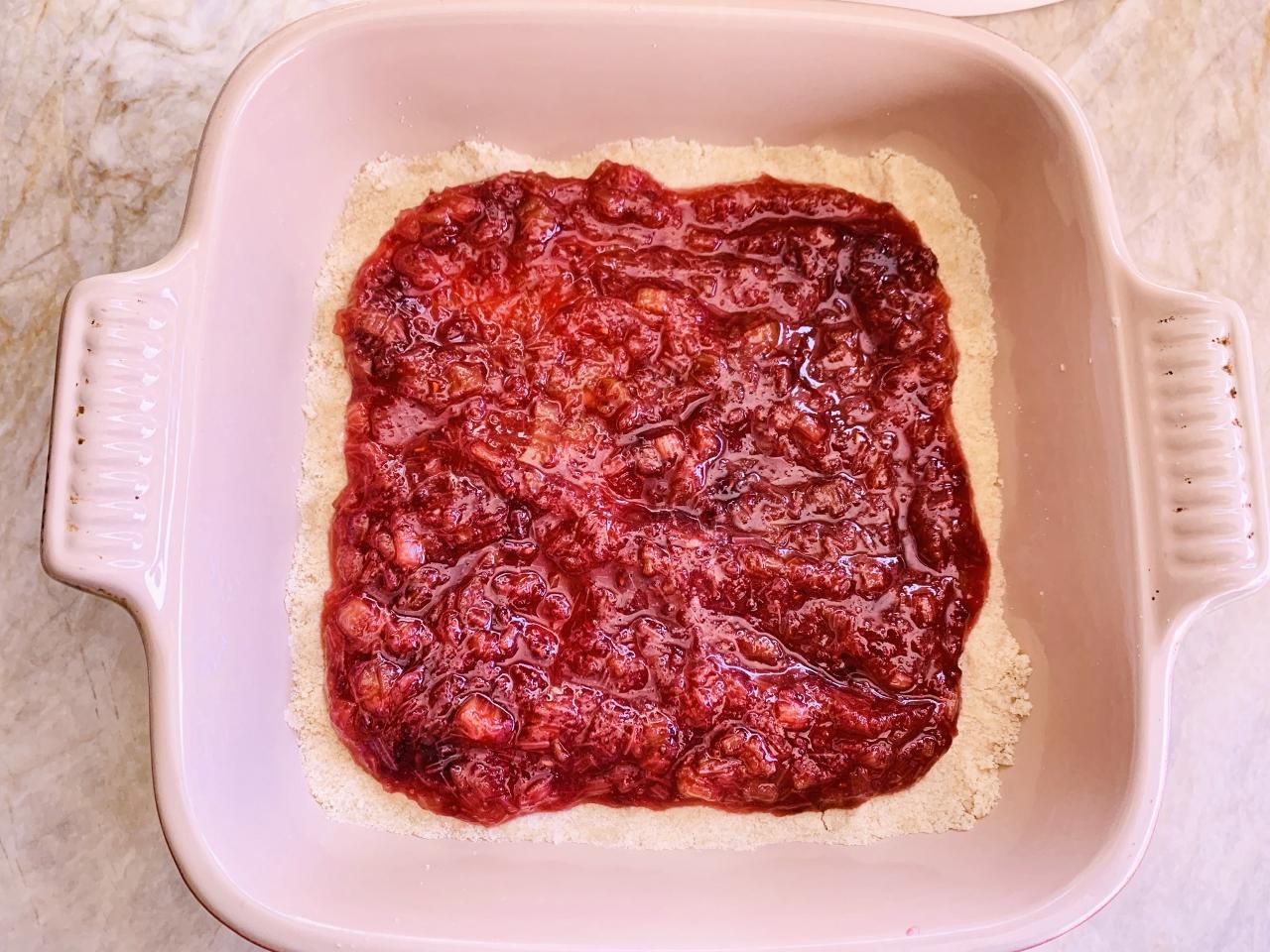 Rhubarb-Raspberry Crumble Bars – Recipe! Image 4