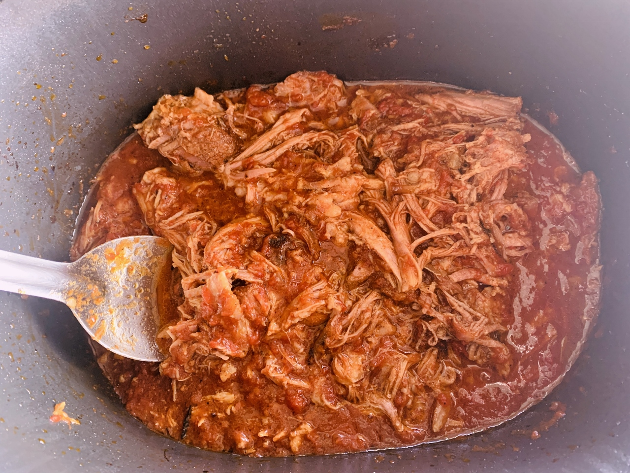 Slow-Cooker Pork Arrabbiata with Creamy Polenta – Recipe! Image 4