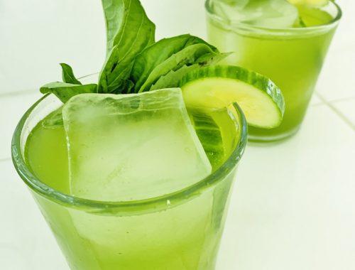 Basil Cucumber Gin & Tonic – Recipe!