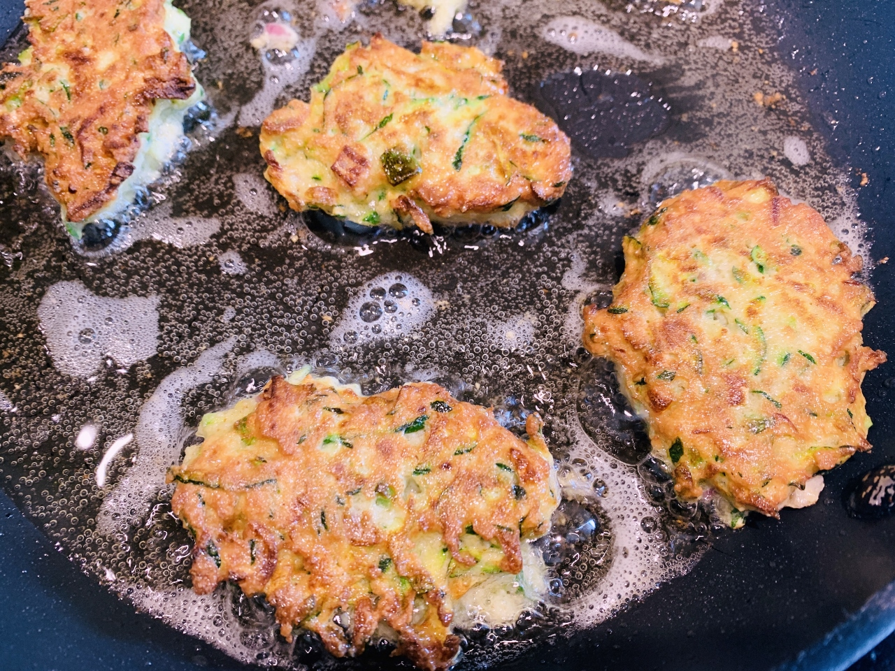 Gluten-Free Zucchini Fritters with Chive Sour Cream – Recipe! Image 5