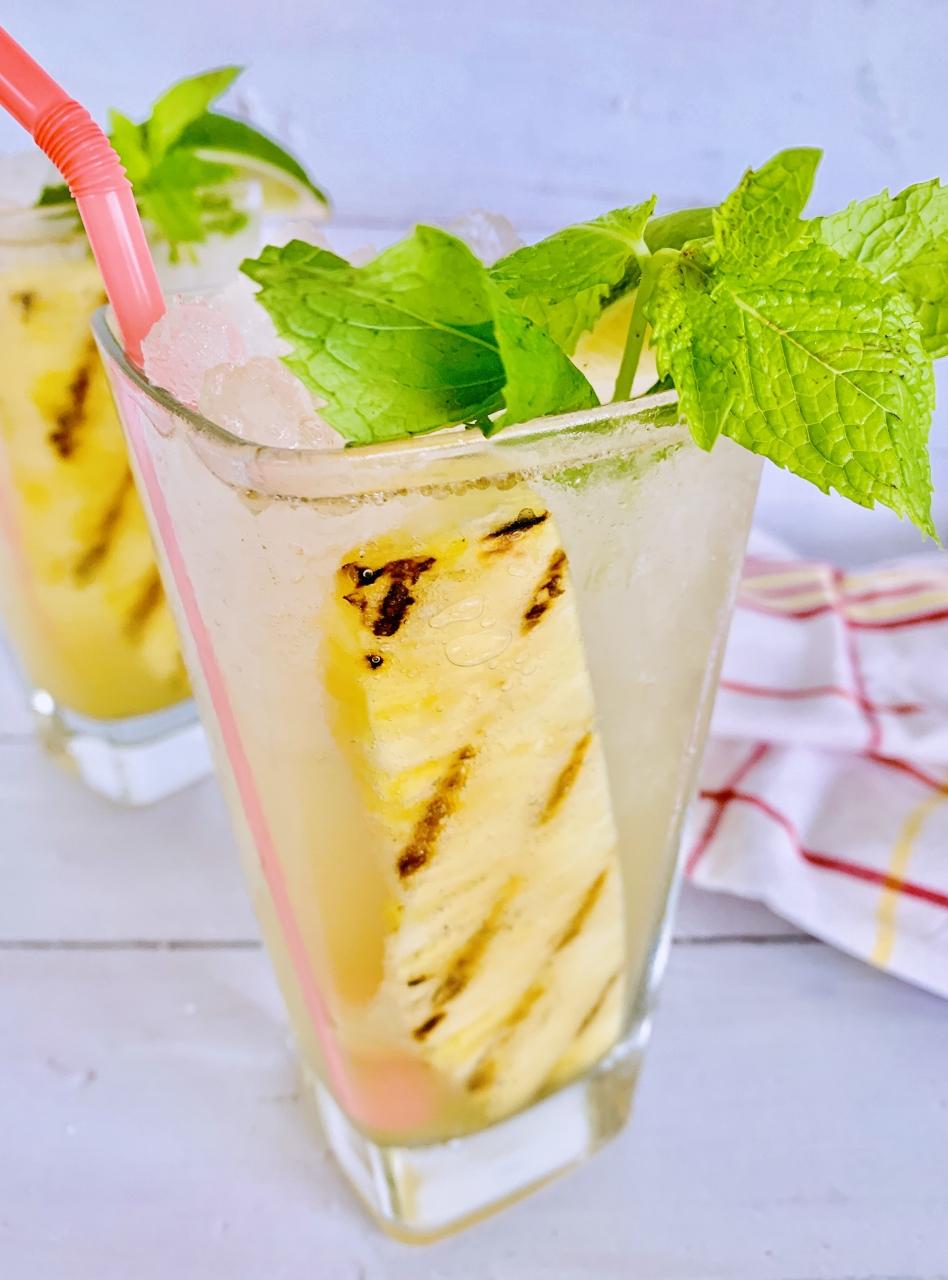 Grilled Pineapple Mojito – Recipe! Image 1