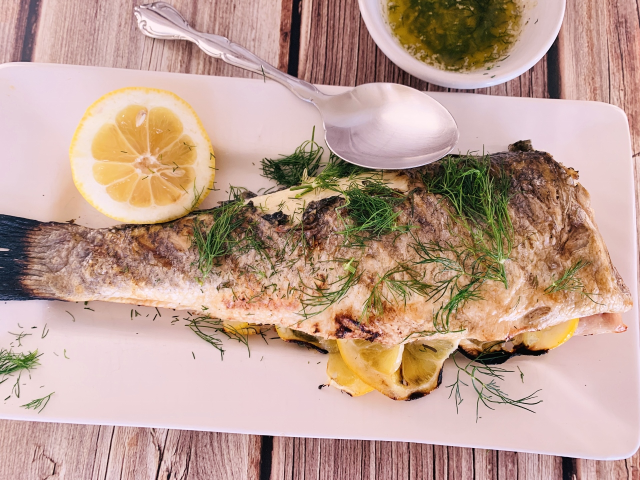 Grilled Whole Branzino with Dill Butter – Recipe! Image 2