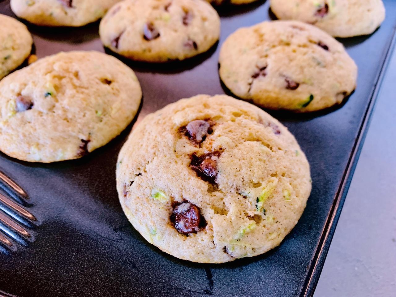 Zucchini Chocolate Chip Muffins – Recipe! Image 3