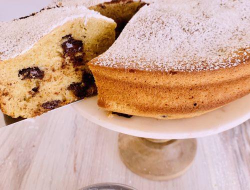 Whole-Grain Olive Oil Chocolate Chip Cake – Recipe!