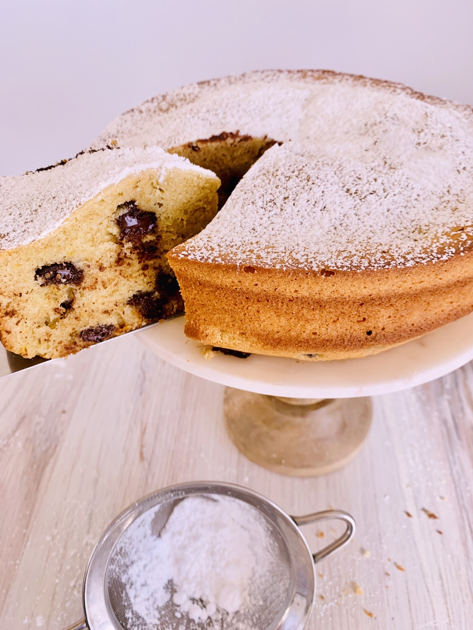 Whole-Grain Olive Oil Chocolate Chip Cake – Recipe! Image 1